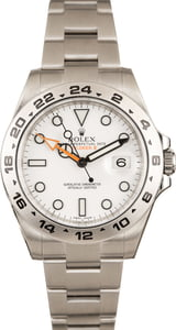 Rolex White Explorer II 216570 42MM