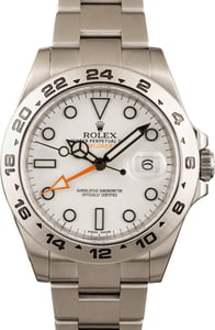Rolex Explorer II 216570 White Dial 42MM