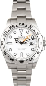 Used Rolex Explorer II 216570 White 42MM