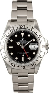 Rolex Explorer II Black Dial 16570 Certified Pre-Owned