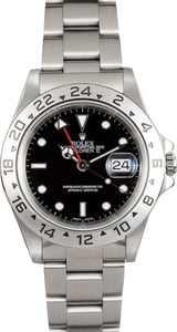 Rolex Explorer II Stainless 16570 Black Dial
