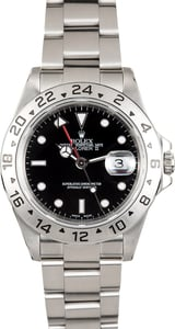 Rolex Explorer II Stainless Steel 16570 Black