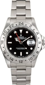 Rolex Explorer II Steel 16570 Black