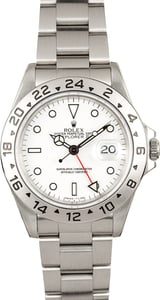 Rolex Explorer II White 16570 Watch