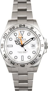 Rolex Explorer 2 White 42MM 216570