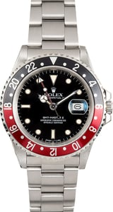 Rolex Fat Lady GMT-Master II 16760 Red and Black