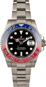 Rolex GMT- Master II Ref 116719 White Gold Oyster Pepsi