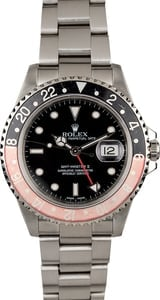 Rolex GMT Master II Ref 16710 Faded Coke Bezel