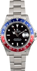 Rolex GMT II 16710 Blue & Red Pepsi