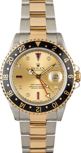 Rolex GMT-Master II 16713 Ruby Diamond Dial