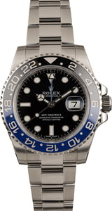 PreOwned Ceramic 'Batman' Rolex GMT Master II Ref 116710