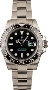 Used Rolex Steel GMT-Master II Ref 116710