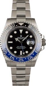 Pre-Owned Rolex GMT-Master 116710 Ceramic 'Batman' Bezel Insert