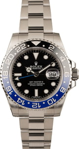 "Pre-Owned Rolex Ceramic ""Batman"" GMT-Master II Ref 116710"