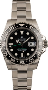 Pre Owned Rolex GMT-Master II Ref 116710 Black Luminous Dial