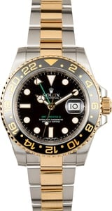 Rolex GMT Master II Two-Tone 116713 Ceramic Bezel