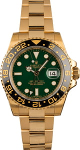 Rolex GMT Master II Ceramic 116718 Anniversary Green Model