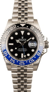 Pre-Owned Rolex GMT-Master II 126710 Jubilee 'Batman' 2019 Model
