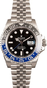 Rolex 126710 GMT Master II Ref Batman Model
