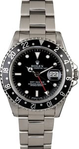 PreOwned Rolex GMT-Master 16700 Steel Oyster