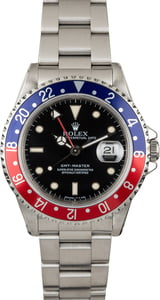 "Pre-Owned Rolex GMT-Master 16700 ""Pepsi"" Bezel"