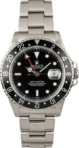 Certified Rolex GMT-Master 16700 Steel Oyster