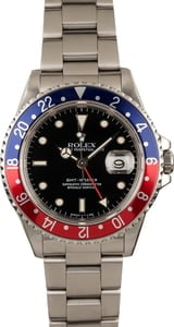 Pre-Owned Rolex GMT-Master 16700 Pepsi