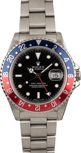 Pre Owned Rolex GMT-Master 'Pepsi' 16700