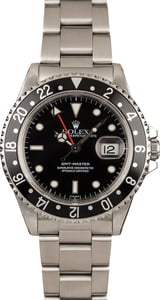 Used Rolex GMT-Master 16700 Black Dial Watch