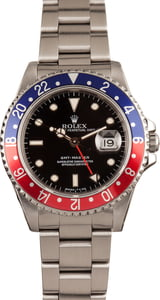 Pre-Owned Rolex GMT-Master 16700 Pepsi Watch