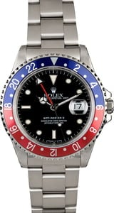 PreOwned Men's Rolex GMT-Master II 'Pepsi' 16710