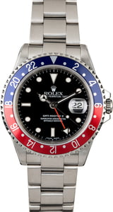 Pre-Owned Rolex GMT-Master II 'Pepsi' Ref 16710
