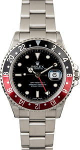 Men's Rolex GMT Master II Ref 16710 'Coke'