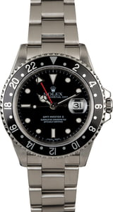 Used Rolex GMT Master 16710 Black Timing Bezel