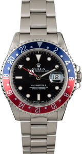 PreOwned Rolex GMT-Master II Ref 16710 Stainless Steel 'Pepsi'