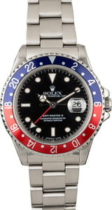 PreOwned Rolex GMT Master 16710 'Pepsi'