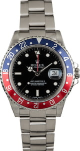 Pre-Owned Rolex GMT Master 16710 'Pepsi' Insert