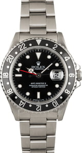 Pre Owned Rolex GMT Master 16710 Black Bezel