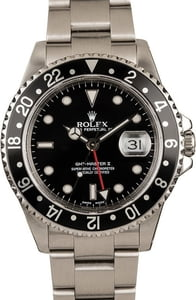Used Rolex GMT-Master II Ref 16710 Luminous Dial