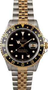 Pre-Owned Rolex GMT-Master II Ref 16713 Two Tone Jubilee