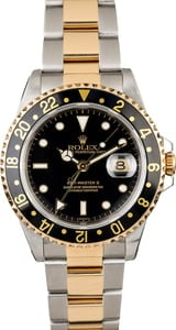 Rolex GMT-Master II Ref 16713 Two Tone Oyster Band