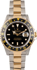 Pre Owned Rolex GMT-Master II Ref 16713 Two Tone Oyster Band