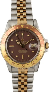 Vintage 1972 Rolex GMT-Master 1675 'Root Beer' Watch