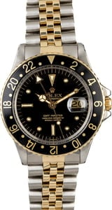 Vintage 1978 Rolex GMT-Master 1675 Nipple Dial