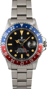 Vintage 1978 Rolex GMT-Master 1675 with Tiffany & Co Dial
