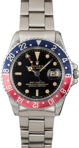 Vintage 1964 Rolex GMT-Master 1675 Glossy Gilt Dial