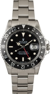 PreOwned Rolex GMT-Master 16750 Black Dial