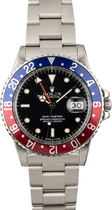 Pre-Owned Rolex GMT-Master 16750 'Pepsi'