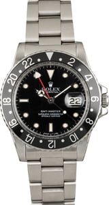 Used Rolex GMT-Master 16750 Black Dial