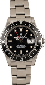 Used Rolex GMT-Master 16750 Black Insert